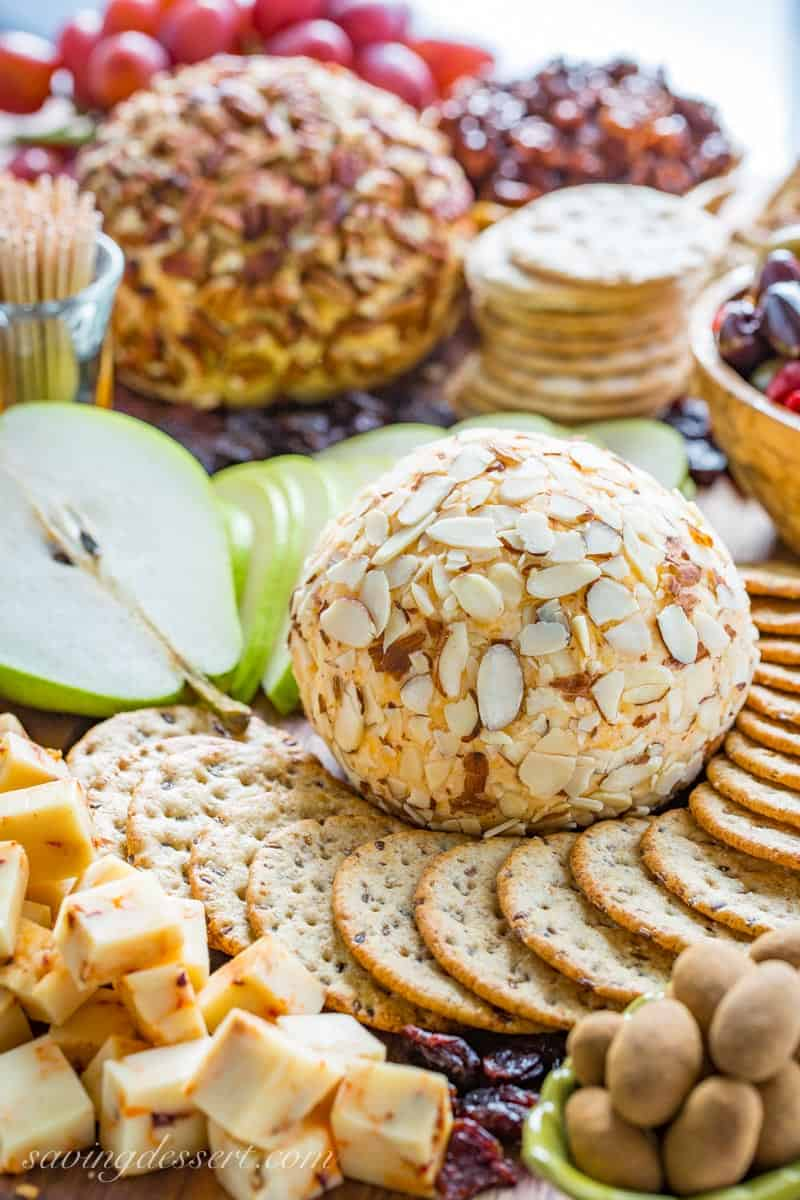 Mom's Party Cheeseball from Saving Room for Dessert