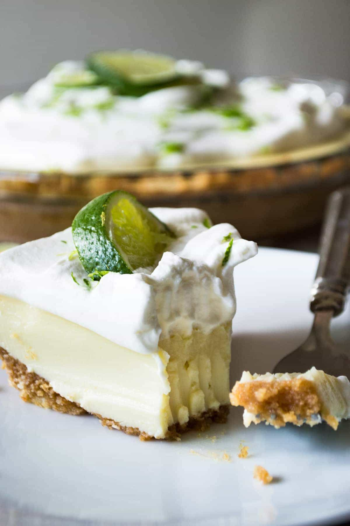 Tequila Lime Pie from House of Yumm