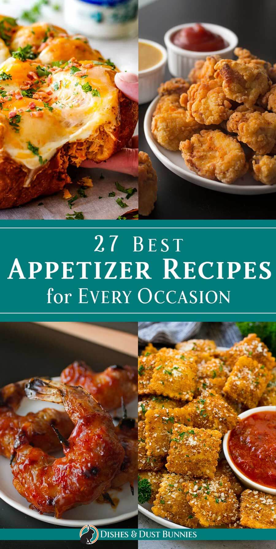 27 Best Appetizer Recipes for Every Occasion