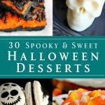 30 Spooky & Sweet Halloween Desserts