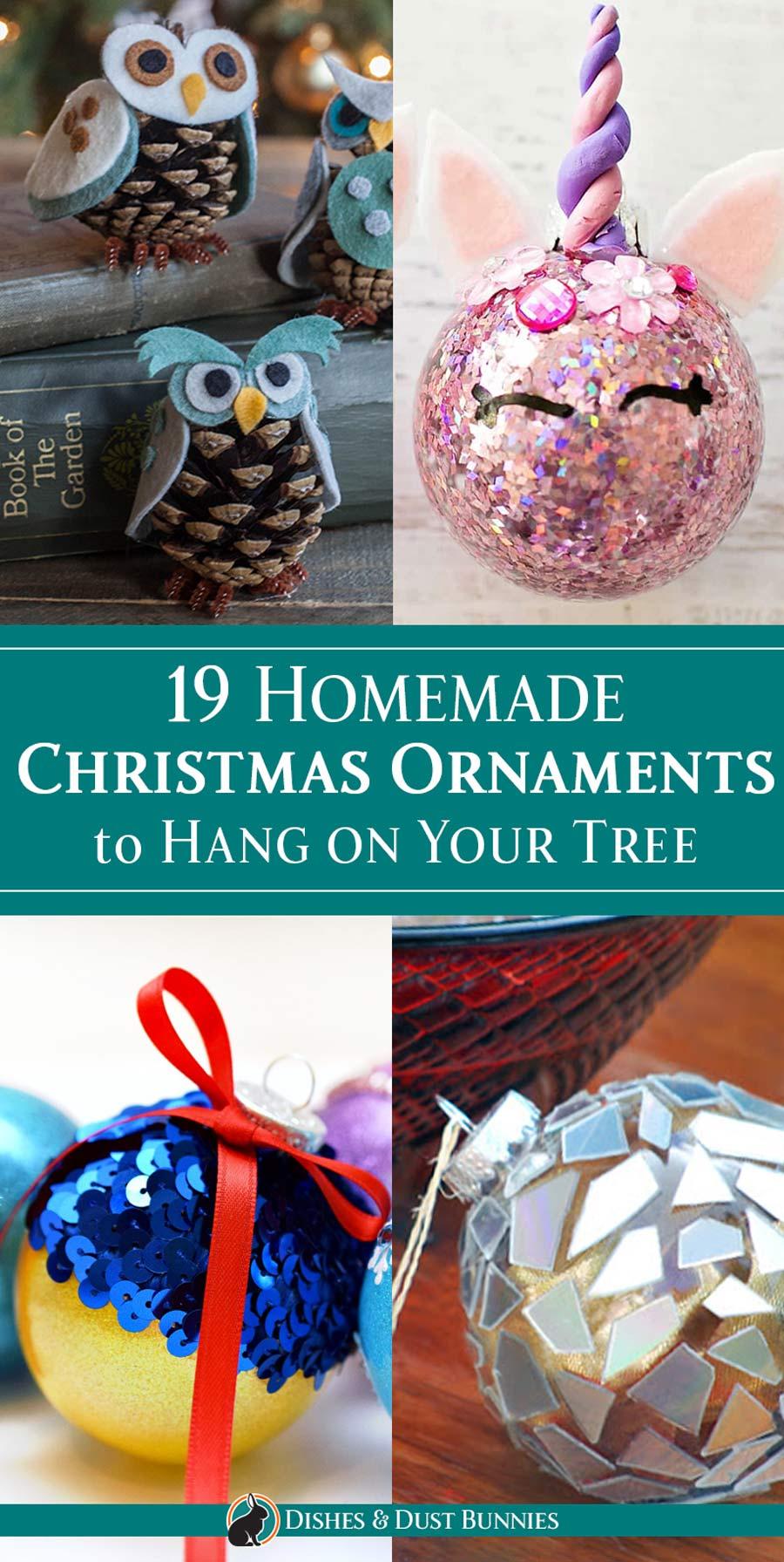 19 Homemade Christmas Ornaments to Hang on Your Tree