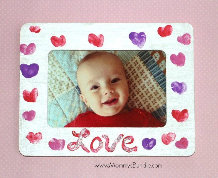Fingerprint Heart Frame from Mommy's Bundle