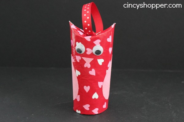 DIY Valentine Owl Craft from Cincy Shopper
