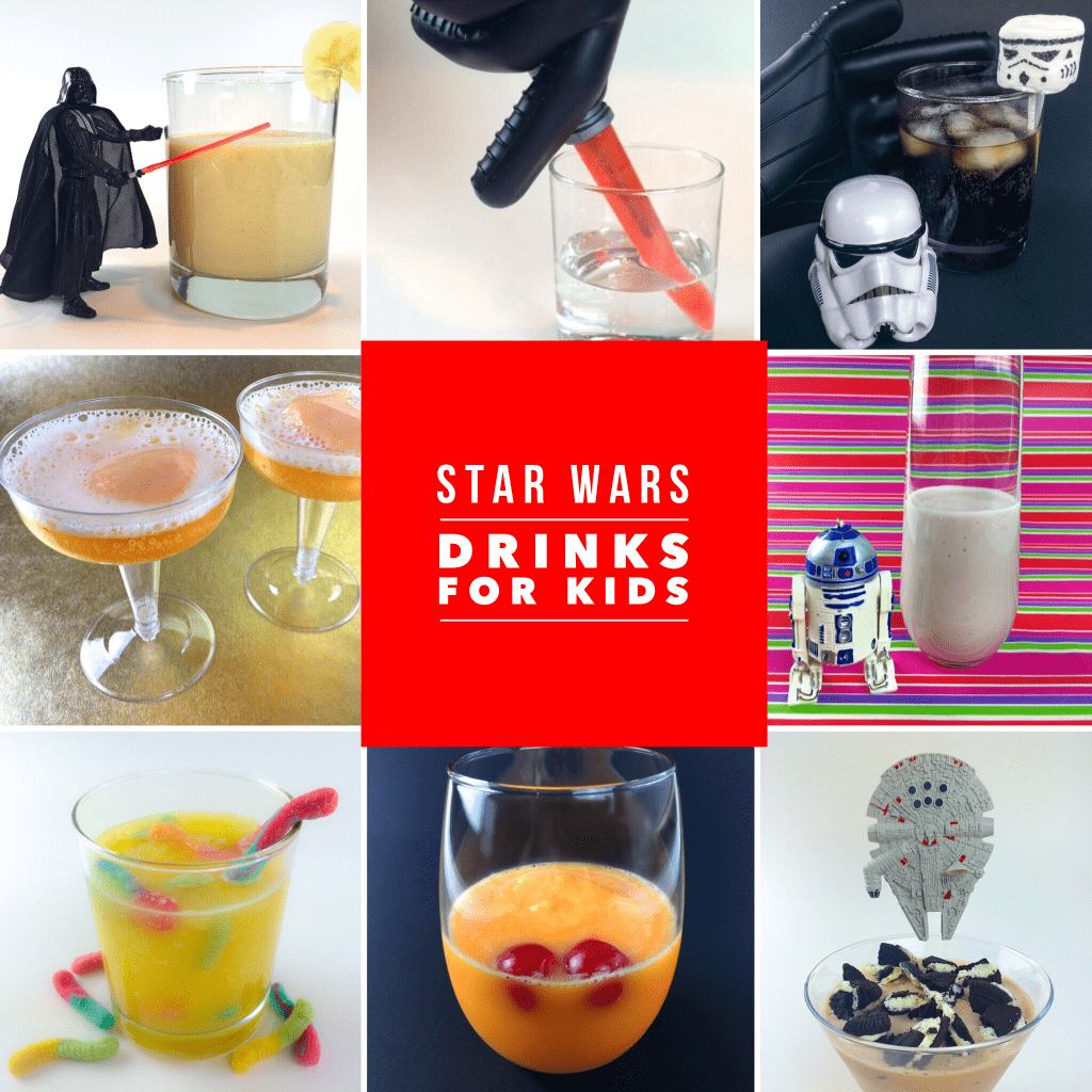 9 Easy Star Wars Drink Recipes for Kids from Kim and Carrie