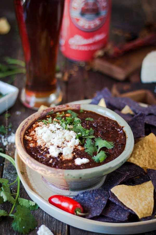 Salsa Borracha with Dark Mexican Lager from Craft Beering