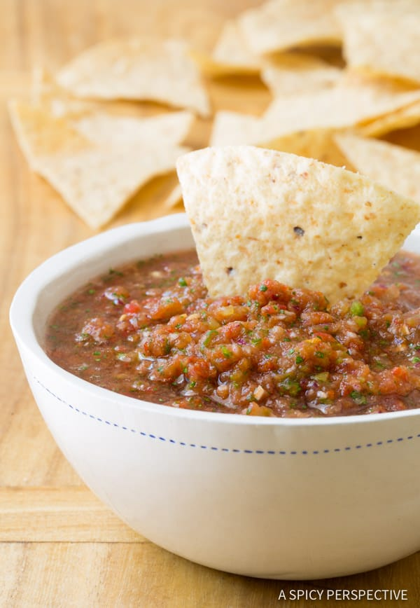 The Best Homemade Salsa Recipe from A Spicy Perspective