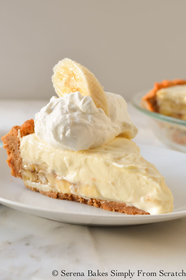 Banana Pudding Cheesecake from Serena Bakes