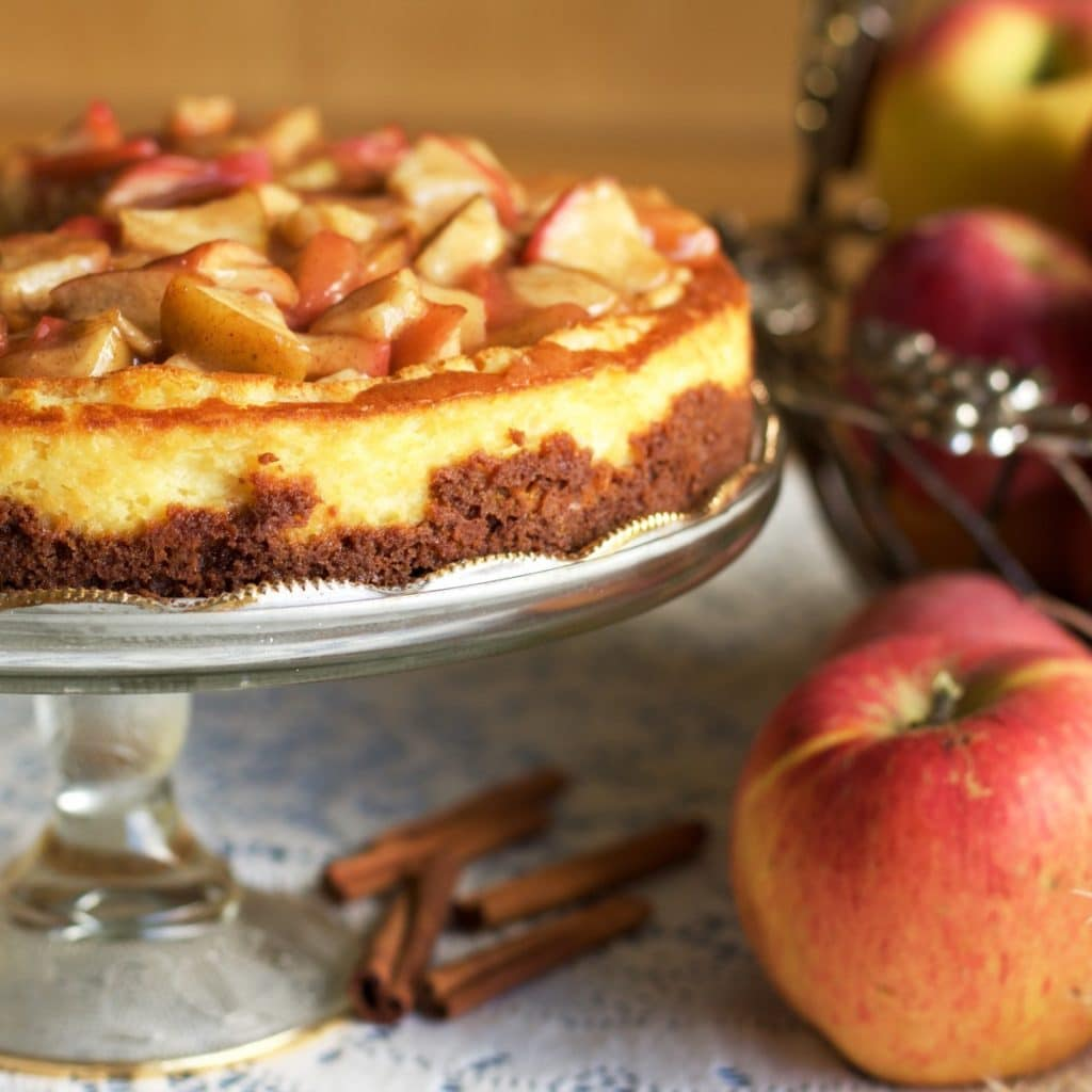 Apple Pie Cheesecake from Homemade Food Junkie