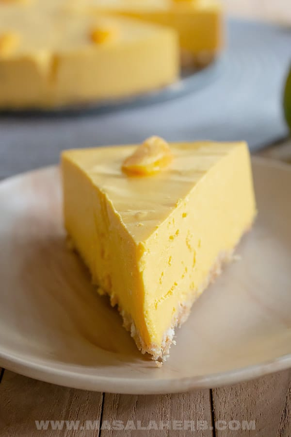 How to Make Mango Cheesecake (No Bake) from Masala Herb
