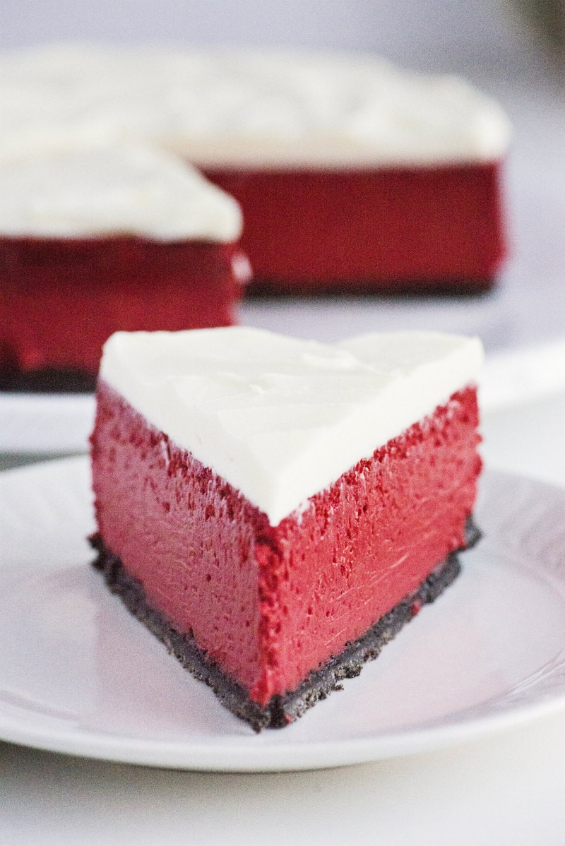 Red Velvet Cheesecake from Recipe Girl
