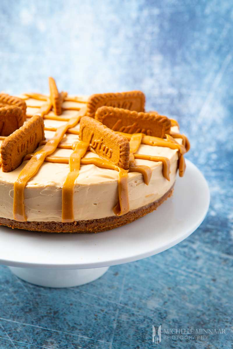 Biscoff Cheesecake from Greedy Gourmet