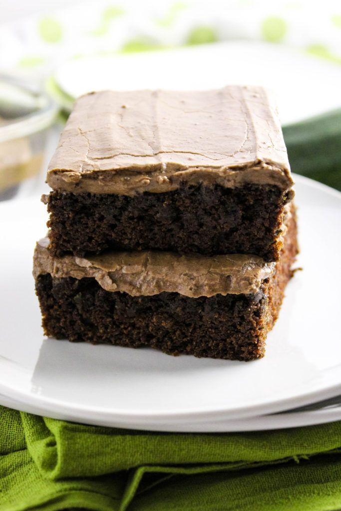 Easy Zucchini Brownies from Baking You Happier