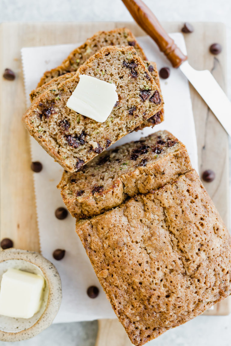 The Best Chocolate Chip Zucchini Bread from Salt and Baker