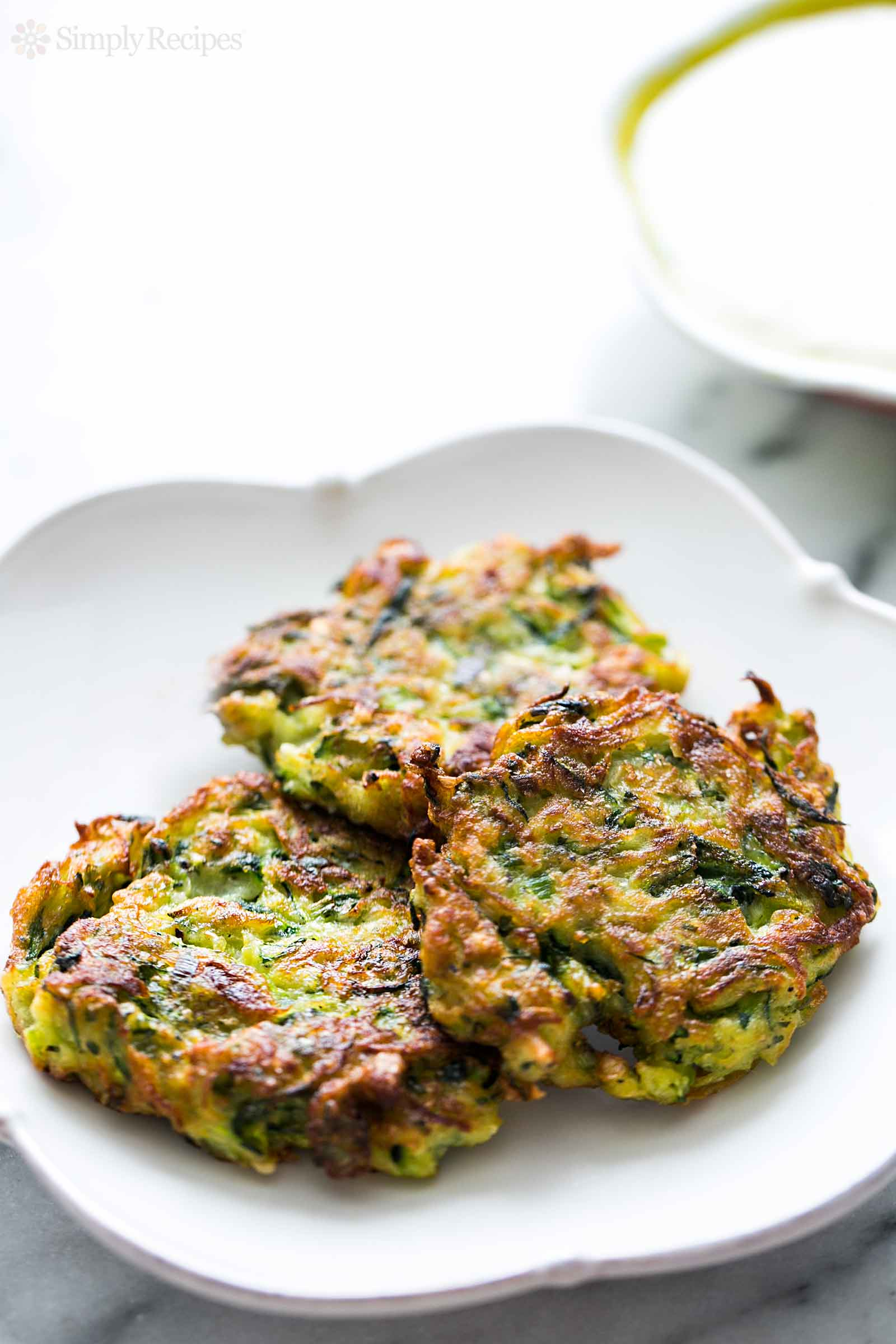 Zucchini Fritters from Simply Recipes