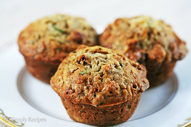 Zucchini Muffins from Simply Recipes