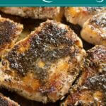 Pan Seared Pork Chops with Sage and Brown Butter