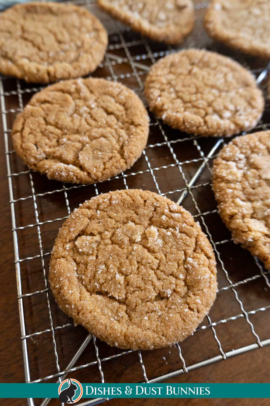 Ginger Sparkle Cookies