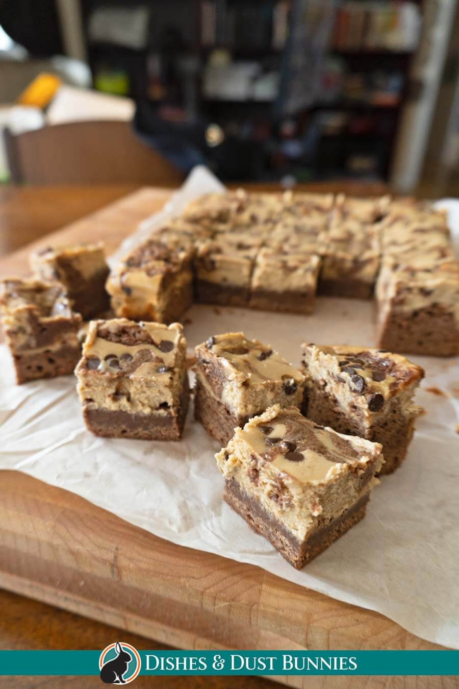 Chocolate Cappuccino Cheesecake Brownie Squares